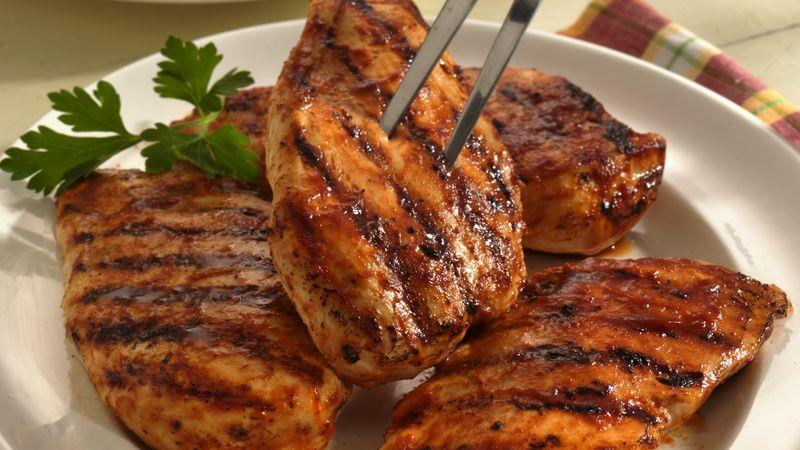 how long to cook marinated chicken breasts